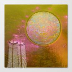 Planetary Moods 1A / 31-08-16 Canvas Print