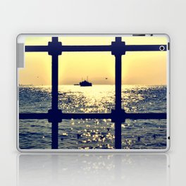 istanbul from behind the bars Laptop & iPad Skin