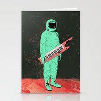space jam Stationery Cards featuring Space Jam by Chase Kunz