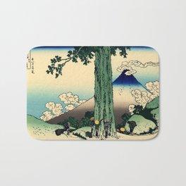 """Hokusai (1760–1849) """"Mishima Pass in Kai Province"""" Bath Mat"""