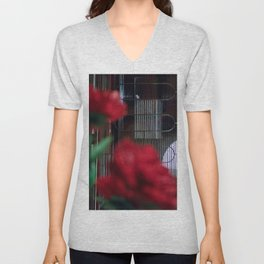 Moody room Unisex V-Neck