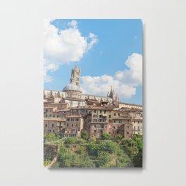 Seina, Tuscany Metal Print