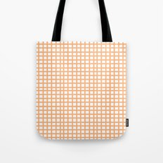 LINES in APRICOT Tote Bag