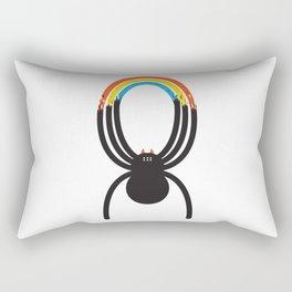 Spiders Are Rainbows Rectangular Pillow