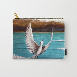 Taking off bird Carry-All Pouch