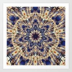 Morris Tapestry Mandala Art Print