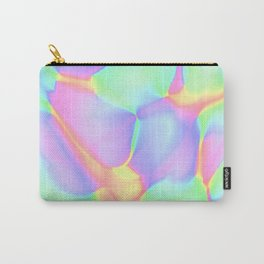 Pretty Pastel Rainbow Abstract Design Carry-All Pouch