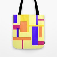 geo Tote Bags featuring Geo by lillianhibiscus