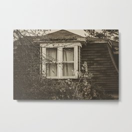 The Historic Hyde Home, Almont, North Dakota Metal Print