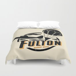 Fulton Recovery Service Duvet Cover
