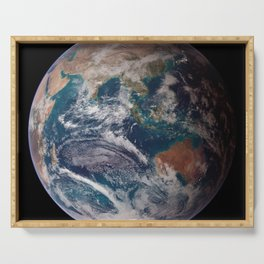 Earth : The Blue Marble Serving Tray