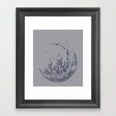 Arabian Crescent Framed Art Print
