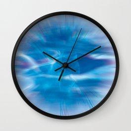 Mystic Blue Wall Clock