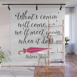 We'll Meet Again - Hagrid Quote Wall Mural