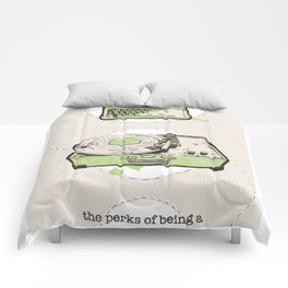 Perks Of Being A Wallflower Limited Edition Movie Poster Print  Comforters