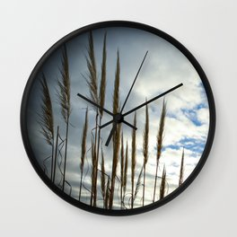 Coronado California Seagrass Wall Clock