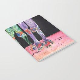 Roller Derby Girls Notebook
