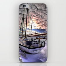 Tall Ship Appledore II Locked in Ice iPhone & iPod Skin