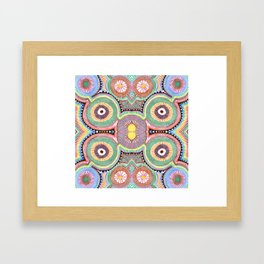 Primary Hypnosis Framed Art Print