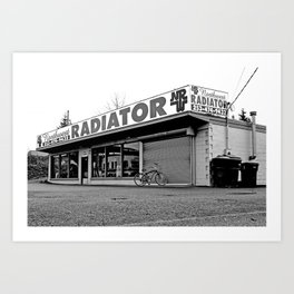 Northwest Radiator Works Art Print