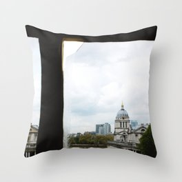 View from the Queen's House Throw Pillow