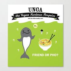 Friend or Pho? Canvas Print