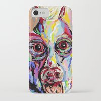 german shepherd iPhone & iPod Cases featuring German Shepherd by EloiseArt