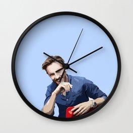 Dan Stevens 2 Wall Clock