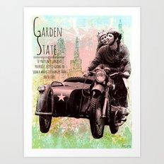 DUMPSTER SCREAMS (Garden State) Art Print