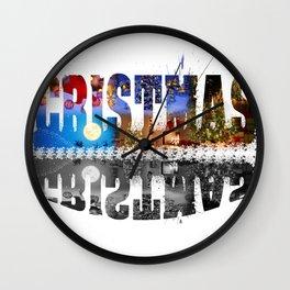 Cristmas Wall Clock