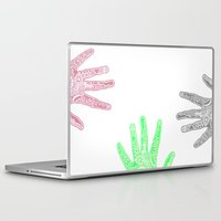 feet Laptop & iPad Skins featuring Feet by J. Fuller
