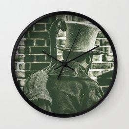 Victorian Times. Wall Clock
