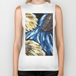 "Thumbnail of the painting ""SUNFLOWERS"" Biker Tank"