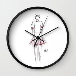 'Hilary' sketch Wall Clock