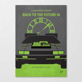 No183 My Back to the Future 3 mmp Canvas Print