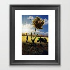 Miracle Grow Framed Art Print