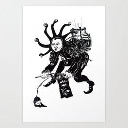 Aquariaus Art Print