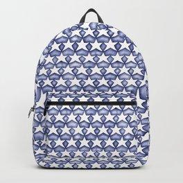 Dark Indigo Stars Backpack