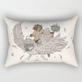 Bird Tamer Rectangular Pillow