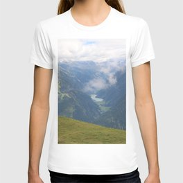 A cloudy day in the Alps T-shirt