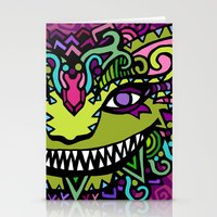 cheshire Stationery Cards featuring CHESHIRE by AZZURRO ARTS