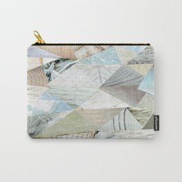 Collage - Like White on Rice Carry-All Pouch