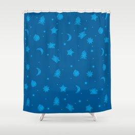 AFE Festive Pattern Shower Curtain
