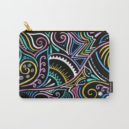 Colourful Night Carry-All Pouch