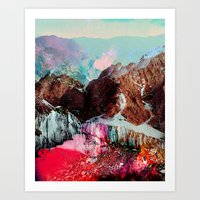 tchmo Art Prints featuring Untitled 20110310e (Landscape) by tchmo