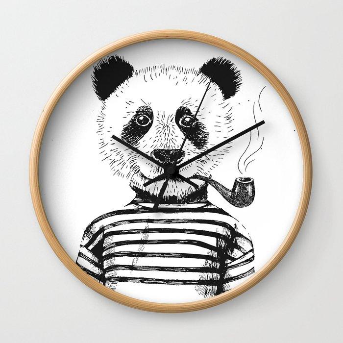 Yeah I am a Panda Wall Clock