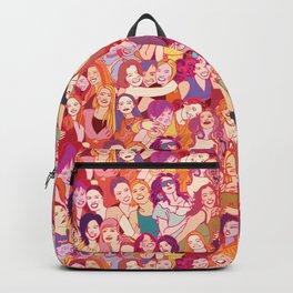 Yo girlfriend – U R my BFF!! Backpack