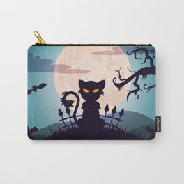 Cat in The Moon light Carry-All Pouch