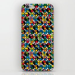 POP - Circles iPhone Skin