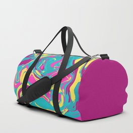 Acrylic Flow #2307 - BubbleBerry Blast Duffle Bag